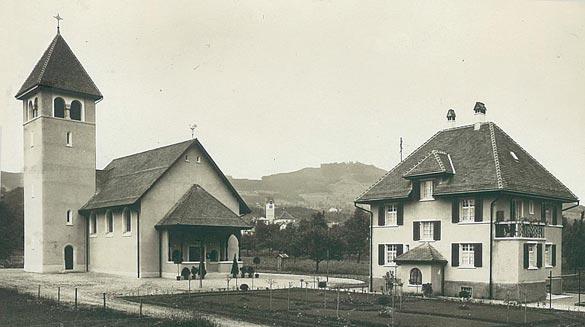 1921_Kirche_Pfarrhaus