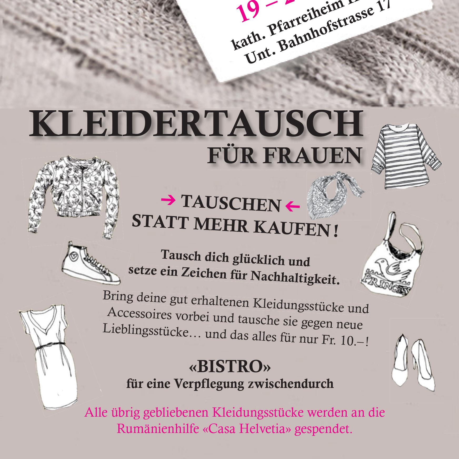Flyer_Kleidertausch